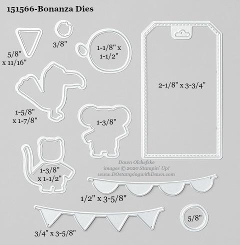 Stampin' Up! Bonanza Dies #DOstamping #stampinup #bonanza #bigshot #cardmaking #HowdSheDOthat #papercrafting
