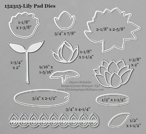 Stampin' Up! Lily Pad Dies #DOstamping #stampinup #lilypad #bigshot #cardmaking #HowdSheDOthat #papercrafting