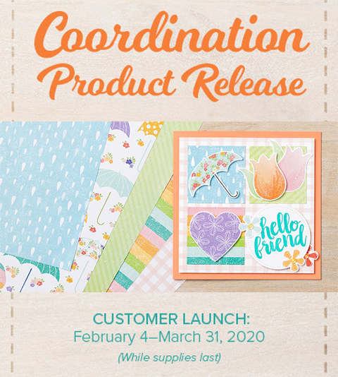 Coming Feb 4th - Stampin' Up! Coordination Product Release Special #dostamping #stampinup