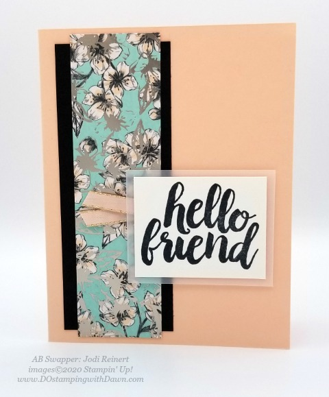 Stampin' Up! Parisian Blossoms Suite swap cards shared by Dawn Olchefske #dostamping #howdshedothat #stampinup #handmade #cardmaking #stamping #papercrafting (Jodi Reinert)