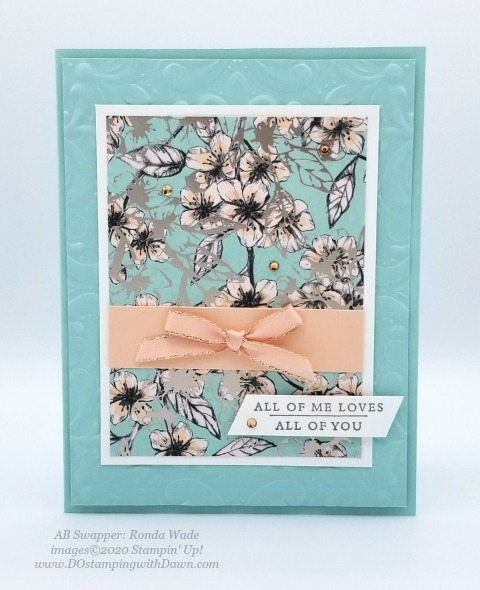Stampin' Up! Parisian Blossoms Suite swap cards shared by Dawn Olchefske #dostamping #howdshedothat #stampinup #handmade #cardmaking #stamping #papercrafting (Ronda Wade)