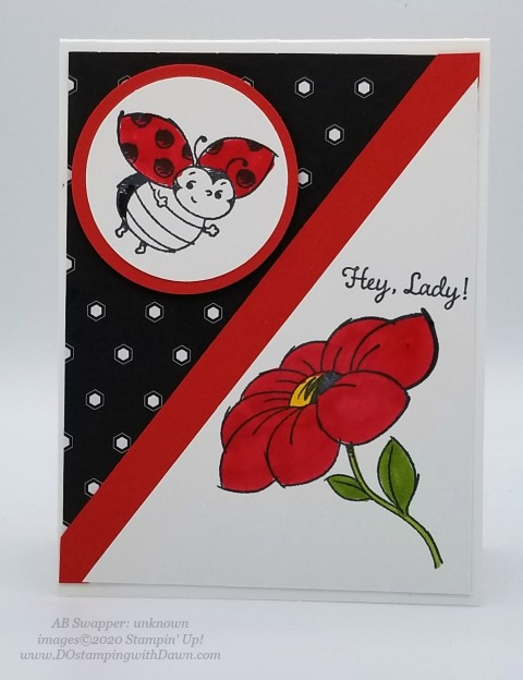 Stampin' Up! Little Ladybug swap cards shared by Dawn Olchefske #dostamping #howdshedothat #stampinup #handmade #cardmaking #stamping #papercrafting (unknown)