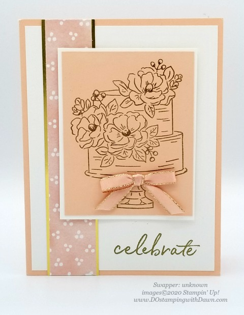 Stampin' Up! Happy Birthday to You swap card shared by Dawn Olchefske #dostamping #howdshedothat #stampinup #handmade #cardmaking #stamping #papercrafting (unknown)