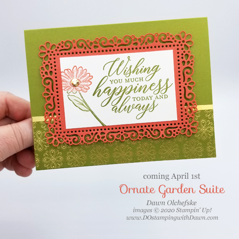 Your Creative Connection 104: Ornate Garden Suite Gift Card from Dawn Olchefske #dostamping #howdshedothat #stampinup #handmade #cardmaking #stamping #papercrafting  #YCC104 #yourcreativeconnection