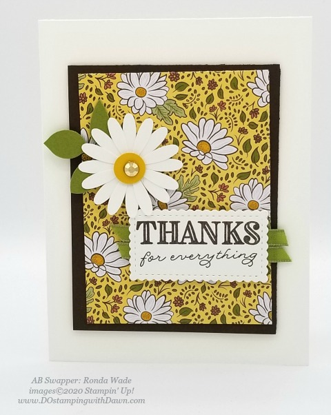 Stampin' Up! Ornate Garden Suite shared by Dawn Olchefske #dostamping #howdshedothat #stampinup #handmade #cardmaking #stamping #papercrafting (Ronda Wade)