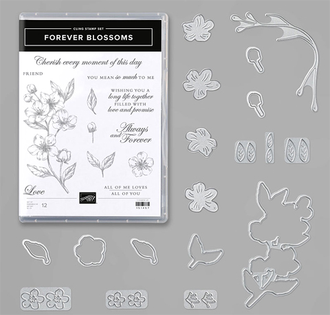 Stampin' Up! Forever Blossoms Bundle (153871) #dostamping #stampinup #foreverblossoms