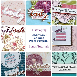 Lovely Day, February 2020 Paper Pumpkin with DOstamping to receive a free alternate ideas tutorial PDF bonus each month.  Subscribe with Dawn Olchefske here:  http://bit.ly/DOstampingPaperPumpkin  #paperpumpkin #dostamping #stampinup #alternativeideas
