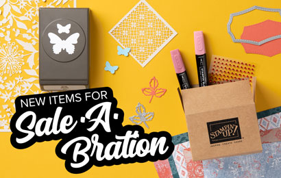 Sale-a-Bration, 9 new FREE Items Added today!  #stampinup #dostamping