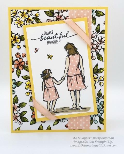 Stampin' Up! Spring Swap Cards shared by Dawn Olchefske #dostamping #howdshedothat #stampinup #handmade #cardmaking #stamping #papercrafting(Missy Shipman)