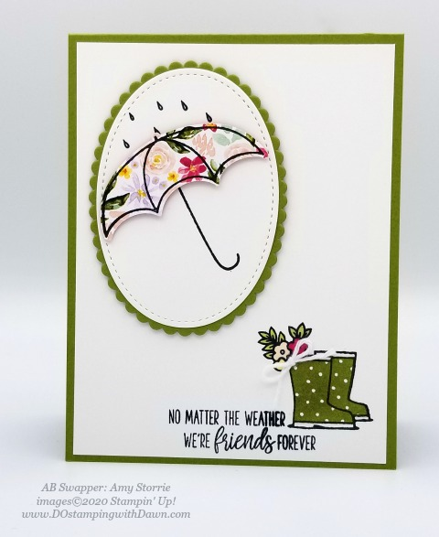 Stampin' Up! Spring Swap Cards shared by Dawn Olchefske #dostamping #howdshedothat #stampinup #handmade #cardmaking #stamping #papercrafting(Amy Storrie)