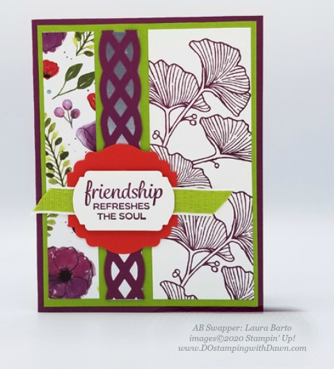 Stampin' Up! Spring Swap Cards shared by Dawn Olchefske #dostamping #howdshedothat #stampinup #handmade #cardmaking #stamping #papercrafting(Laura Barto)