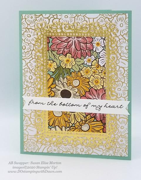 7 Stunning Ornate Garden Suite cards shared by Dawn Olchefske #dostamping #stampinup #handmade #cardmaking #stamping #papercrafting #ornategarden (Susan Elise Morton)