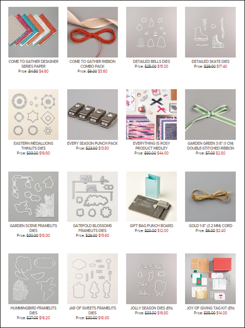Head on over to the updated Stampin' Up! Clearance Rack #dostamping #stampinup #stamping #papercrafting  #craftingsupplies #clearancerack