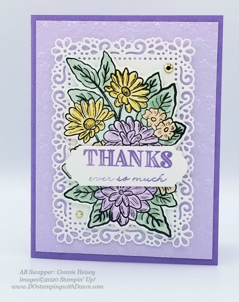 Stampin' Up! Ornate Garden Suite shared by Dawn Olchefske #dostamping #howdshedothat #stampinup #handmade #cardmaking #stamping #papercrafting (Connie Heisey)