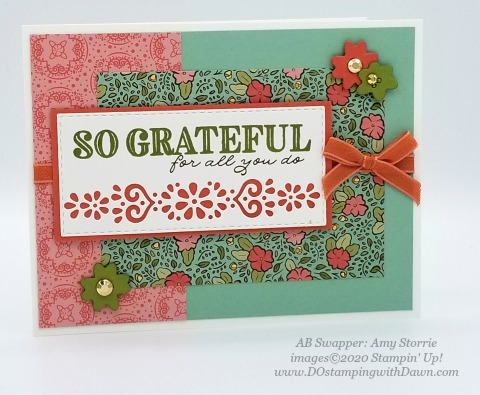 Stampin' Up! Ornate Garden Suite shared by Dawn Olchefske #dostamping #howdshedothat #stampinup #handmade #cardmaking #stamping #papercrafting (Amy Storrie)