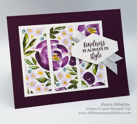 Stampin' Up! Best Dressed card by Dawn Olchefske #dostamping #howdshedothat #stampinup #handmade #cardmaking #stamping #papercrafting  #YCC106 #YourCreativeConnection