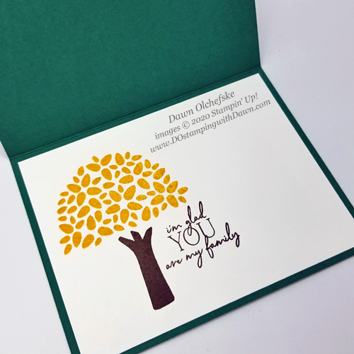 Paper Pumpkin April My Wonderful Family Blop Hop | Dawn Olchefske dostamping #stampinup #handmade #cardmaking #stamping #diy #papercrafting #paperpumpkin