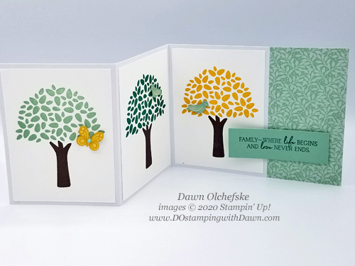 Paper Pumpkin April My Wonderful Family Blop Hop | Dawn Olchefske dostamping #stampinup #handmade #cardmaking #stamping #diy #papercrafting #paperpumpkin