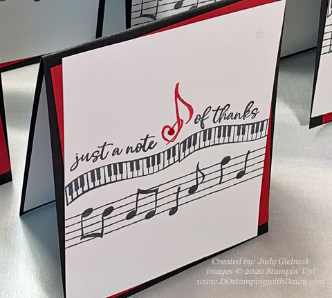 11 Last Chance Music from the Heart cards shared by Dawn Olchefske #dostamping #stampinup #handmade #cardmaking #stamping #papercrafting  (Judy Gielniak)