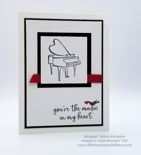 11 Last Chance Music from the Heart cards shared by Dawn Olchefske #dostamping #stampinup #handmade #cardmaking #stamping #papercrafting  (Selene Kempton)