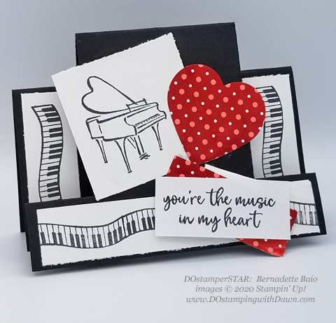 11 Last Chance Music from the Heart cards shared by Dawn Olchefske #dostamping #stampinup #handmade #cardmaking #stamping #papercrafting  (DOstamperSTAR Bernadette Biao)