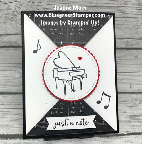 11 Last Chance Music from the Heart cards shared by Dawn Olchefske #dostamping #stampinup #handmade #cardmaking #stamping #papercrafting  (Jeanne Moss)