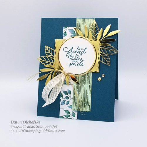Stampin' Up! Forever Greenery Suite Sneak Peek card by Dawn Olchefske #dostamping #howdshedothat #stampinup #handmade #cardmaking #stamping #papercrafting  #YCC107 #YourCreativeConnection