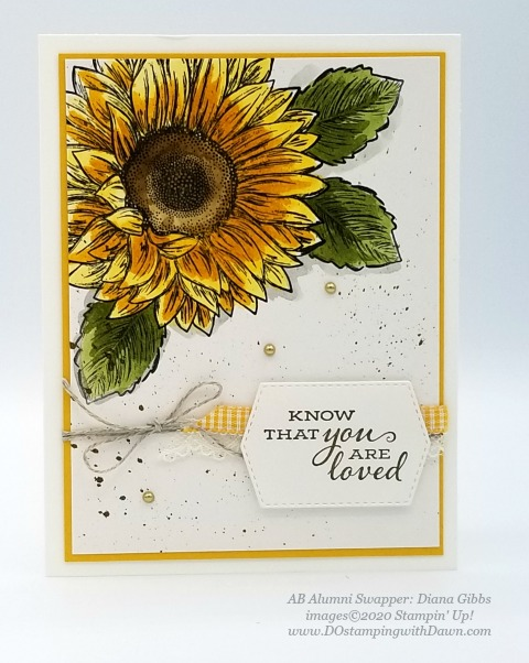 Stampin' Up! Flowers for Every Season Suite shared by Dawn Olchefske #dostamping #howdshedothat #stampinup #handmade #cardmaking #stamping #papercrafting (Diana Gibbs)