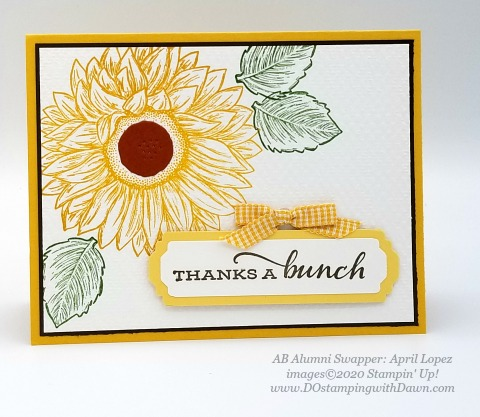 Stampin' Up! Flowers for Every Season Suite shared by Dawn Olchefske #dostamping #howdshedothat #stampinup #handmade #cardmaking #stamping #papercrafting (April Lopez)