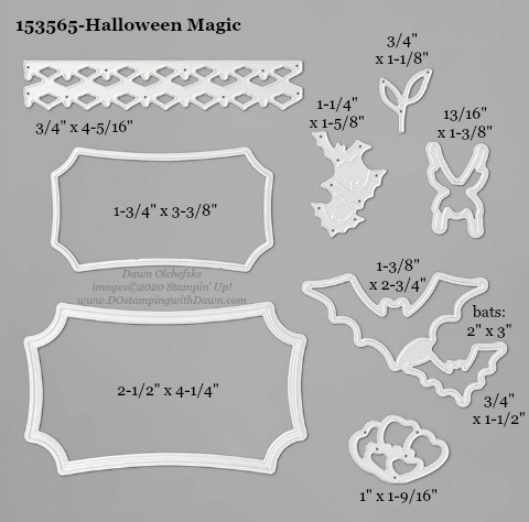153565-Stampin' Up! Halloween Magic Die measurements #DOstamping #stampinup #stampincut #cardmaking #HowdSheDOthat #papercrafting
