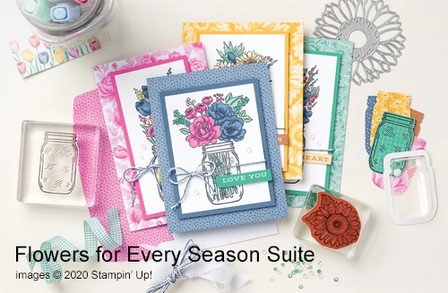 9 Fabulous Flowers for Every Season Suite cards shared by Dawn Olchefske #dostamping #howdshedothat #stampinup #handmade #cardmaking #stamping #papercrafting
