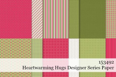 Stampin' Up! Heartwarming Hugs Designer Series Paper shared by Dawn Olchefske #dostamping #stampinup #handmade #cardmaking #stamping #papercrafting