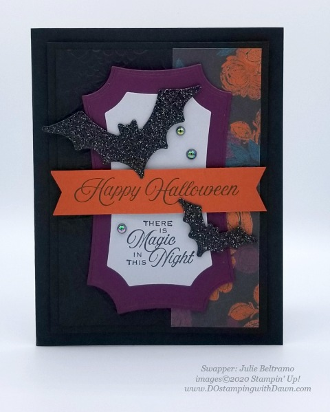 Stampin' Up! Magic in the Night Suite shared by Dawn Olchefske #dostamping #howdshedothat #stampinup #handmade #cardmaking #stamping #papercrafting (Julie Beltramo)