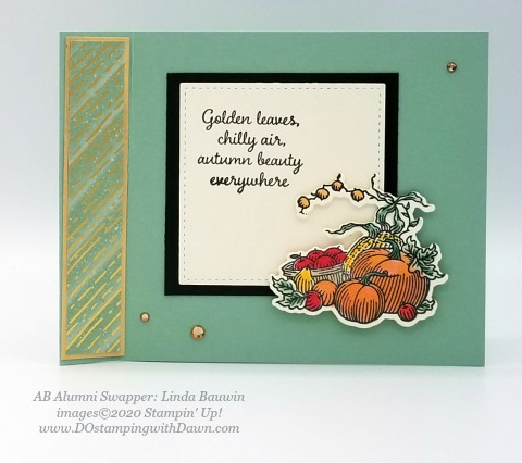 Stampin' Up! Autumn Goodness card shared by Dawn Olchefske #dostamping #howdshedothat #stampinup #handmade #cardmaking #stamping #papercrafting (Linda Bauwin)