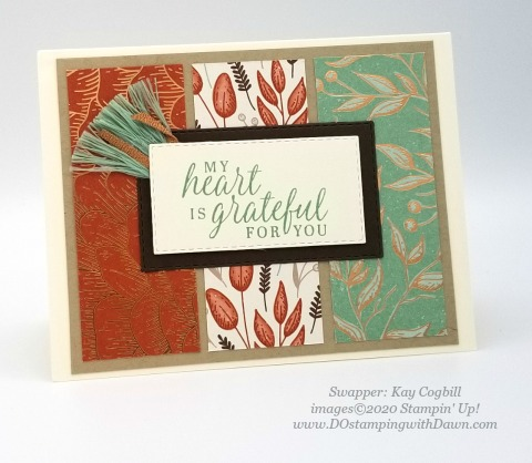 Stampin' Up! Beautiful Autumn card shared by Dawn Olchefske #dostamping #howdshedothat #stampinup #handmade #cardmaking #stamping #papercrafting (Kay Cogbill)
