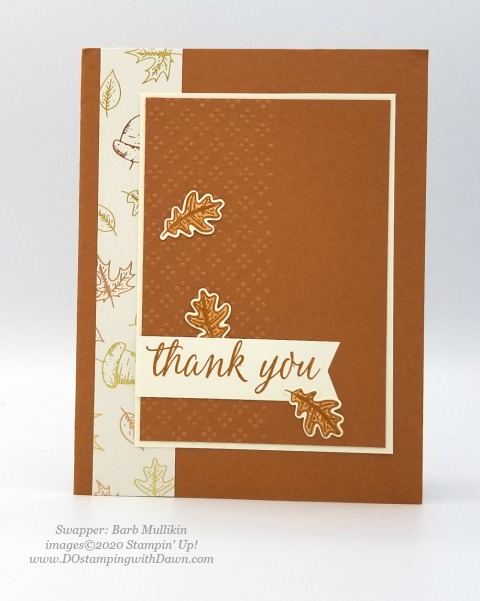 Stampin' Up! Beautiful Autumn card shared by Dawn Olchefske #dostamping #howdshedothat #stampinup #handmade #cardmaking #stamping #papercrafting (Barb Mullikin)