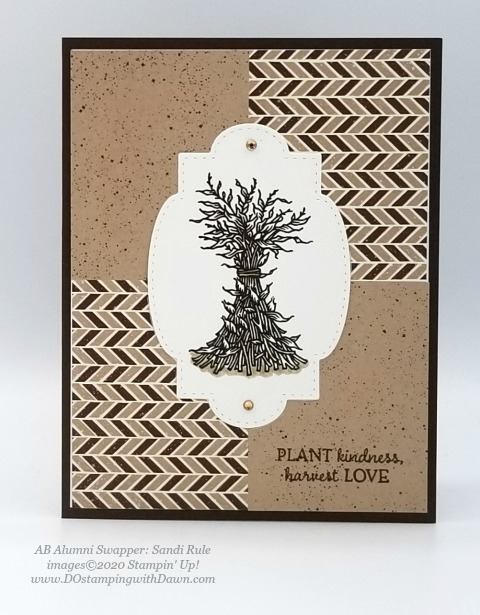Stampin' Up! Autumn Goodness card shared by Dawn Olchefske #dostamping #howdshedothat #stampinup #handmade #cardmaking #stamping #papercrafting (Sandi Rule)