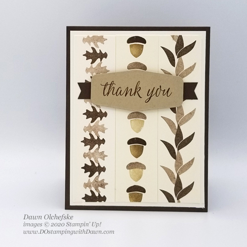Stampin' Up! Beautiful Autumn Technique card by Dawn Olchefske #dostamping #howdshedothat #stampinup #handmade #cardmaking #stamping #papercrafting  #stampingtechniques