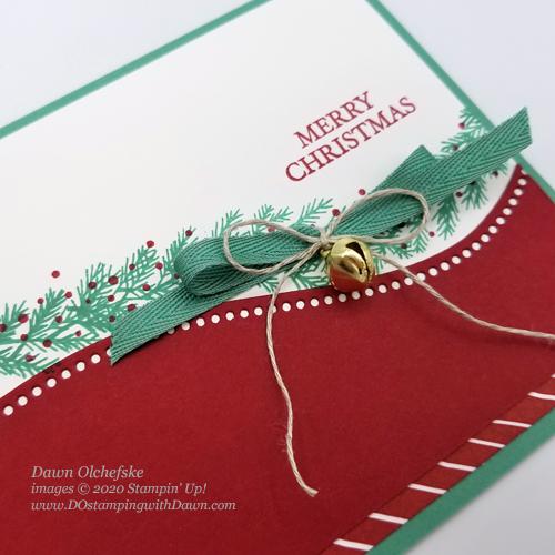 Curvy Christmas #dostamping #stampinup #cardmaking-c