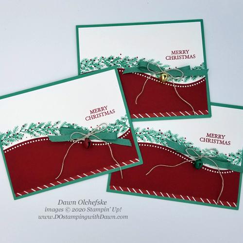 Curvy Christmas #dostamping #stampinup #cardmaking-g