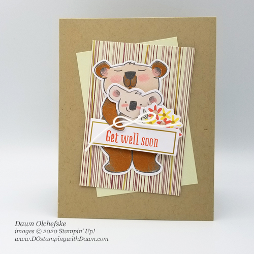 Beary Comforting Paper Pumpkin kit December 2020 #dostamping #paperpumpkin #alternatives