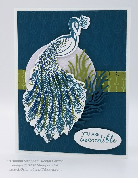 Stampin' Up! 2019-2021 In Color swap cards shared by Dawn Olchefske #dostamping #howdshedothat #stampinup #handmade #cardmaking #stamping #papercrafting (Robyn Cardon)