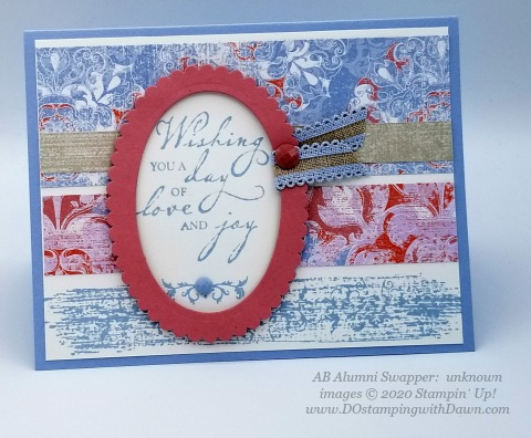 Stampin' Up! 2019-2021 In Color swap cards shared by Dawn Olchefske #dostamping #howdshedothat #stampinup #handmade #cardmaking #stamping #papercrafting (unknown)