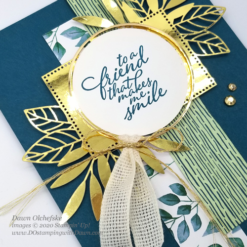 Stampin' Up! Forever Greenery Suite Sneak Peek card by Dawn Olchefske #dostamping #howdshedothat #stampinup #handmade #cardmaking #stamping #papercrafting#YCC107 #YourCreativeConnection
