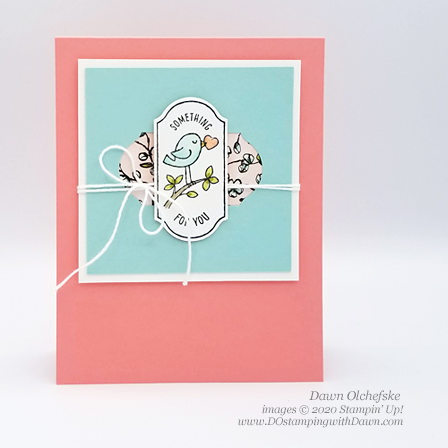 Punch trick with Timeless Label Punch, Stampin' Up! Timeless Label Punch and Time for Tags card shared by Dawn Olchefske #dostamping #howdshedothat #stampinup #handmade #cardmaking #stamping #papercrafting #birthdaycards, #dostamperstars, #DOswts338