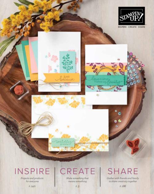 Stampin' Up! Annual Catalog 2020-2021 #dostamping #dawnolchefske #howdsheDOthat #stampinup #cardmaking #papercrafting