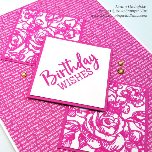 Stampin' Up! Fancy Phases card by Dawn Olchefske #dostamping #howdshedothat #stampinup #handmade #cardmaking #stamping #papercrafting  #DOswts341 #DOstamperSTARS