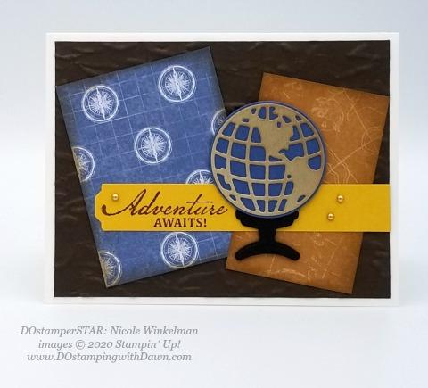 Stampin' Up! DOstamperSTAR Beautiful World Bundle swap shared by Dawn Olchefske #dostamping #howdshedothat #stampinup #handmade #cardmaking #stamping #papercrafting (Nicole Winkelman)