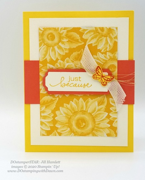 Stampin' Up! DOstamperSTAR Lovely You Bundle swap shared by Dawn Olchefske #dostamping #howdshedothat #stampinup #handmade #cardmaking #stamping #papercrafting  (Jill Hamlett)