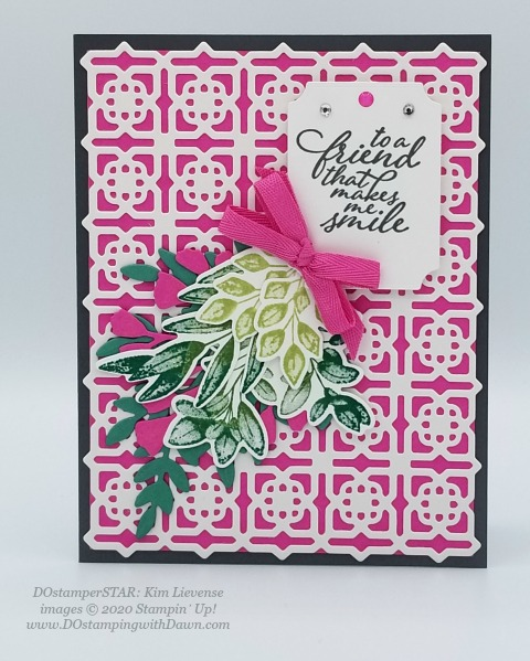 Stampin' Up! DOstamperSTAR Many Mates Bundle swap shared by Dawn Olchefske #dostamping #howdshedothat #stampinup #handmade #cardmaking #stamping #papercrafting (Kim Lievense)